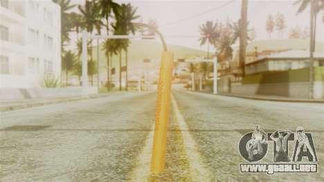 Red Dead Redemption TNT Diego Elegant para GTA San Andreas