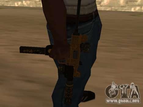 Micro SMG para GTA San Andreas segunda pantalla