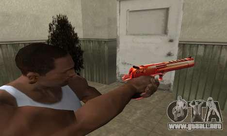 Death Red Deagle para GTA San Andreas segunda pantalla