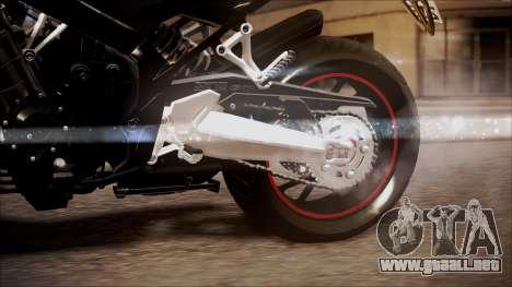 Honda CB650F Pretona para la visión correcta GTA San Andreas