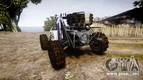 Buggy Fireball para GTA 4 Vista posterior izquierda