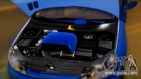 Peugeot 206 Full Tuning para la vista superior GTA San Andreas