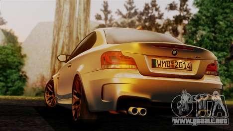 BMW 1M E82 v2 para GTA San Andreas left