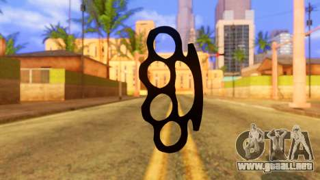 Atmosphere Brass Knuckle para GTA San Andreas