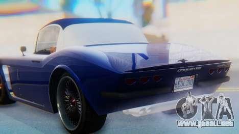Invetero Coquette BlackFin v2 SA Plate para la vista superior GTA San Andreas