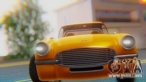 Invetero Coquette BlackFin Not Convertible para la visión correcta GTA San Andreas