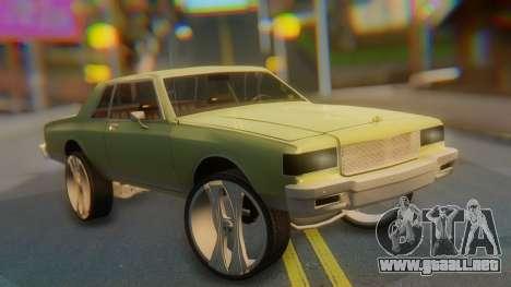 Chevrolet Caprice para GTA San Andreas
