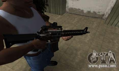 Brighty Leopard M4 para GTA San Andreas