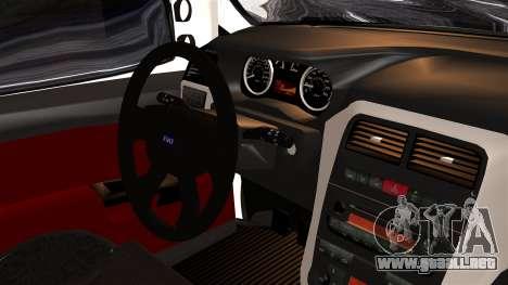 Fiat Doblo PPX para la visión correcta GTA San Andreas