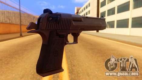 Atmosphere Desert Eagle para GTA San Andreas segunda pantalla