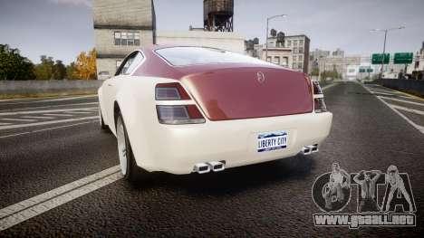 GTA V Enus Windsor para GTA 4 Vista posterior izquierda