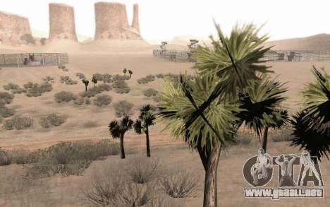 Una copia de la original de los árboles para GTA San Andreas sucesivamente de pantalla
