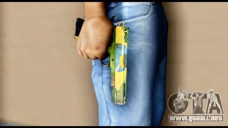 Brasileiro Pistol para GTA San Andreas tercera pantalla