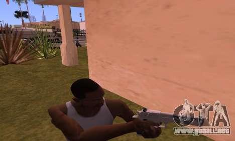 Deagle from Battlefield Hardline para GTA San Andreas tercera pantalla