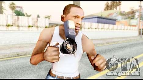 La cámara para GTA San Andreas tercera pantalla