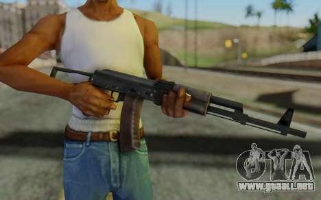 AK-74P para GTA San Andreas tercera pantalla