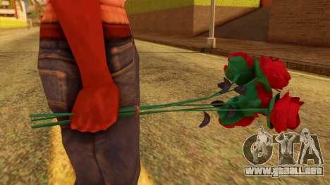 Atmosphere Flowers para GTA San Andreas segunda pantalla