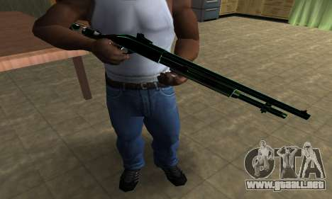 Green Guy Shotgun para GTA San Andreas