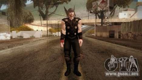Thor Custom Skin para GTA San Andreas segunda pantalla