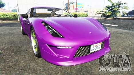 Grotti Carbonizzare Aston Martin Zagato V12 para GTA 5
