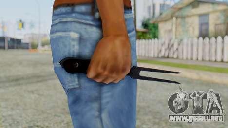 Fork from Silent Hill Downpour para GTA San Andreas segunda pantalla