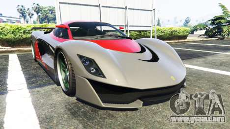 Grotti Turismo R La Ferrari para GTA 5