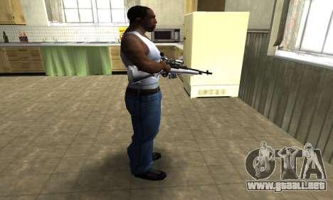 Silver Sniper Rifle para GTA San Andreas tercera pantalla