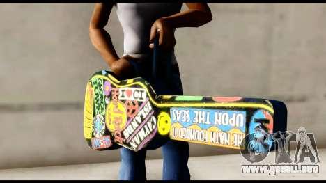 Guitar Case MG Colorful para GTA San Andreas tercera pantalla