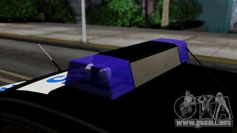 BMW 330i E46 YPX para la visión correcta GTA San Andreas