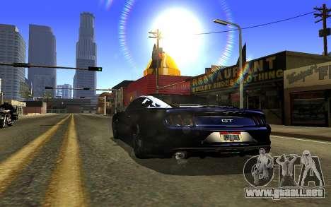 Zolta ENB para GTA San Andreas tercera pantalla