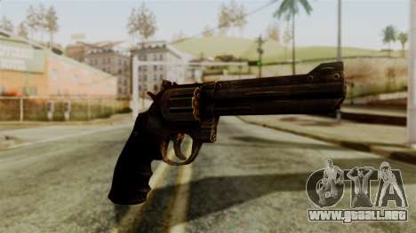 Colt Revolver from Silent Hill Downpour v1 para GTA San Andreas