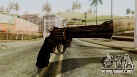 Colt Revolver from Silent Hill Downpour v1 para GTA San Andreas