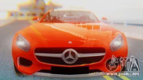 Mercedes-Benz SLS AMG GT para GTA San Andreas vista hacia atrás