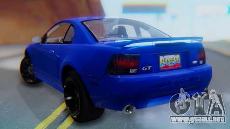 Ford Mustang 1999 Clean para GTA San Andreas left