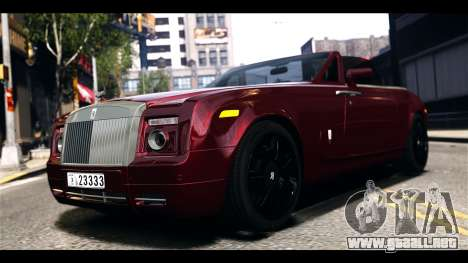 Rolls-Royce Phantom 2009 Coupe v1.0 para GTA 4 left