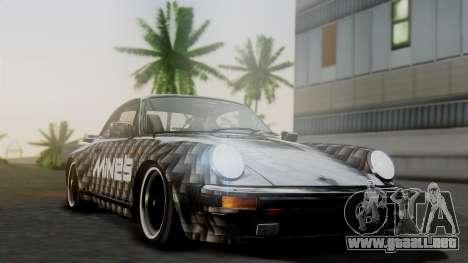 Porsche 911 Turbo (930) 1985 Kit A para vista lateral GTA San Andreas