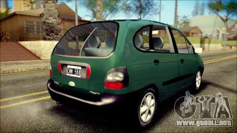 Renault Megane Scenic para GTA San Andreas left