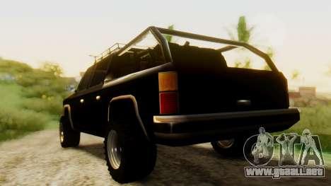 FBI Rancher Offroad para GTA San Andreas left