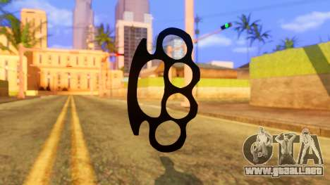 Atmosphere Brass Knuckle para GTA San Andreas segunda pantalla
