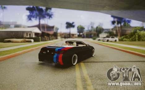 BMW M6 Cabrio para GTA San Andreas left