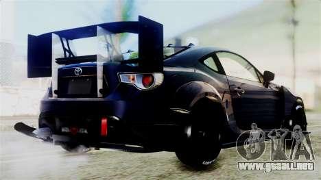 Toyota GT86 para la visión correcta GTA San Andreas
