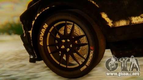 Shelby GT500 Death Race para la visión correcta GTA San Andreas