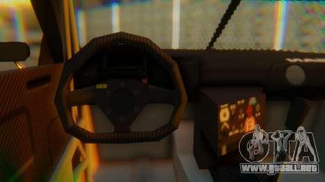 Nissan GT-R GT1 Sumo Tuning para la visión correcta GTA San Andreas