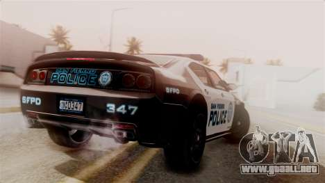 Hunter Citizen from Burnout Paradise Police SF para GTA San Andreas left