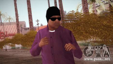 HD ballas3 Retextured para GTA San Andreas