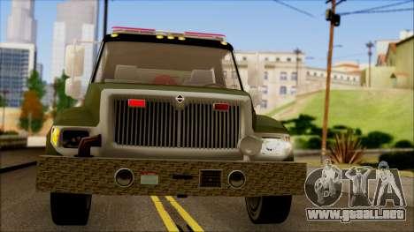 SANG Combat Rescue International para visión interna GTA San Andreas