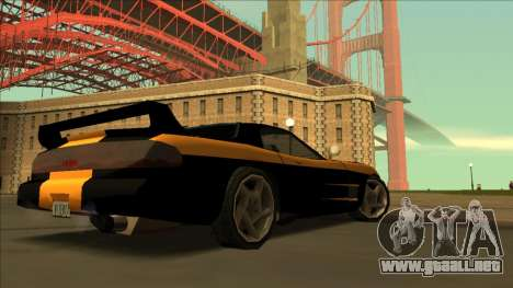 ZR-350 Road King para visión interna GTA San Andreas