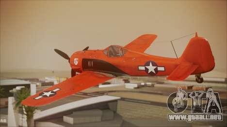 FW-190 A-8 US Air Force para GTA San Andreas left