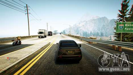 GTA 5 Nitro Mod (Xbox Joystick support) 0.7 quinta captura de pantalla