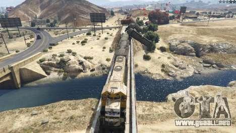 GTA 5 Improved freight train 3.8 quinta captura de pantalla